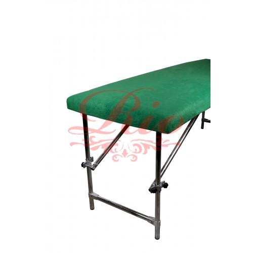 Чехол флисовый на кушетку 80х200 см зеленый