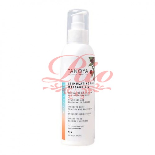 Косметическое масло Tanoya для массажа тела «Стимулирующее» 200 мл