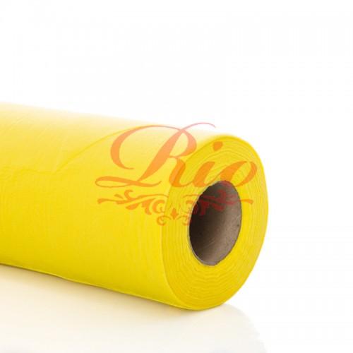 """Простынь одноразовая TM """"Rio"""" comfort желтая 0.6x500 п.м в рулоне"""