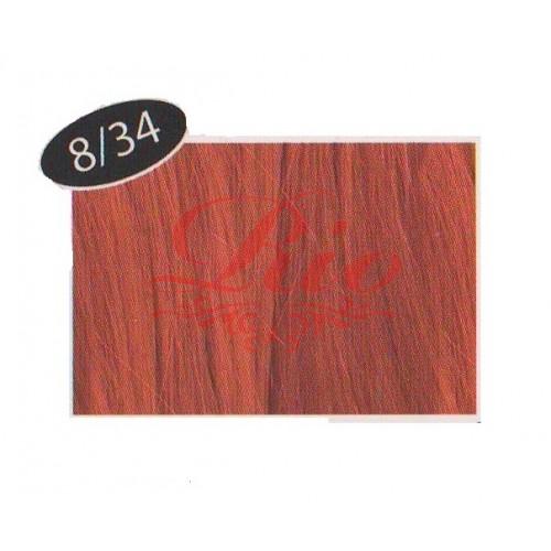 Краска Beauty Plus 8/34 Медно золотистый 75 мл